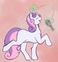 Fanart - I like to sing-a by Eclipseowl