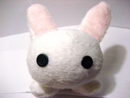 White Bunny Plush by mAd-ArIsToCrAt