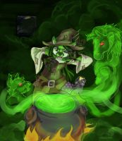 neopets: Witching Hour by Nalana