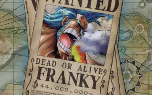 One Piece - Franky Wanted by DharionDrahl