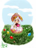 happy easter by kagome94stefi