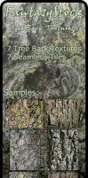 Tree Bark Textures Zip Pack 1 by FantasyStock
