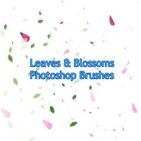 Leaves and blossoms PS brushes by The-Max-Factor