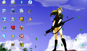 My current wallpaper by MegaManModelT101