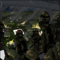 Fort Dix Riot by CrisisOmega
