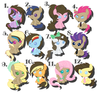Shipped Foal Adopts - Time Turner Edition - CLOSED by iPandadopts