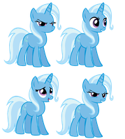 Trixie Expressions WIP by Durpy