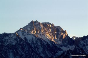 Sunset On The Sierras by Sommore