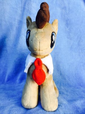 *FOR SALE* Dr. Whooves (front) by EmbroideryMW101