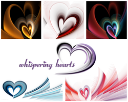 whispering hearts wallpapers by NatalieKelsey