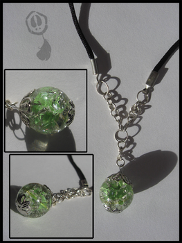 Shattered Marble Necklace - Green by Amif