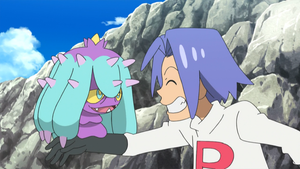 James and his New Pokemon from Alola... Mareanie