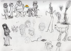 Ralph 'N Cats Scribbles by Phraggle