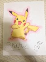 Pokemon: Pikachu~ by animelover287