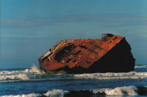 Shipwreck 1 of 6 by aristocrat