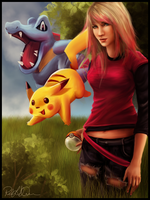 Alya - Pokemon Trainer by RebeccaWeaver