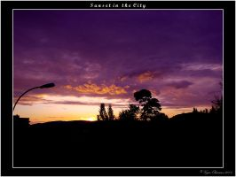 Sunset in the City by OsLoFrEaK