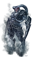 paizo shadow monster by faroldjo