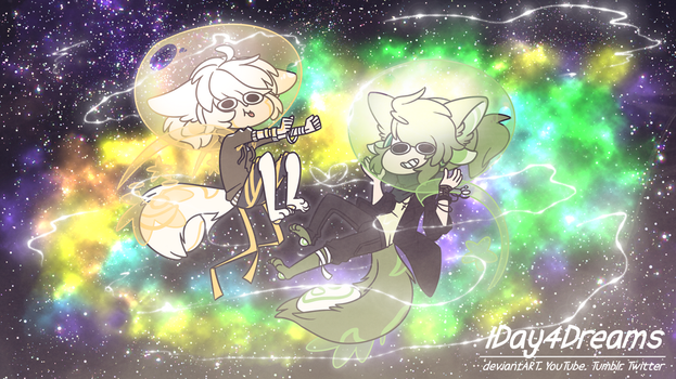 Space Gays by 1Day4Dreams