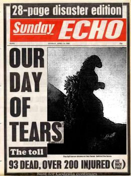 Sunday Echo: Godzilla Disaster of 1989 by ultimategodzilla