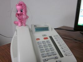 Pinkie Attacks at Work 2 by Spinian