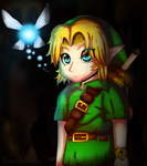 Young__Link__::Cave:: by knucklesOrigins