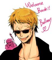 Welcome Back Bellamy by LotusMartus