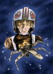 Luke Skywalker Pilot, (Star Wars) by Fermatfsm