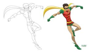 Robin the boy wonder by NunoPlati