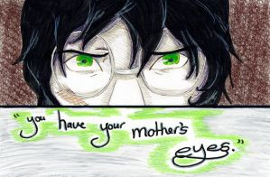 Your Mother's Eyes by psycobabble402
