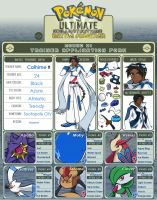 UBF Trainer Entry Form-Calhime by NeoAtlantis