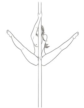 Pole Dancer 3 by kkskipper