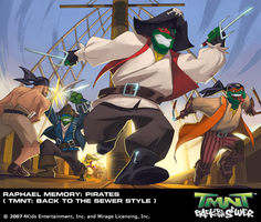 TMNT BTTS Memory-Raph Pirates by E-Mann