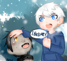 I belive! by cat6757