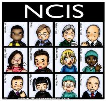 NCIS Group 01 by ryuuri