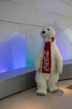 The Coca Cola Bear by KnightWolfPro