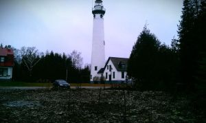 Presq Isle lighthouse by capturedpoetry