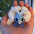 Mini Swablu Pokemon posable by superayaa