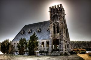 Old Stone Church Color by CM-Photo