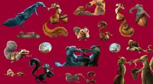 Scrat and Scratte pictures by MsKitti3