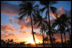 My First Hawaii Sunset by keenster