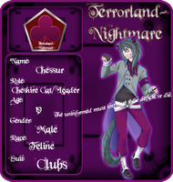 Terrorland-Nightmare .:Cheshire Cat:. by cute-uke
