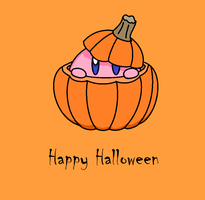 Kirby Pumpkin by PikaKirby6595
