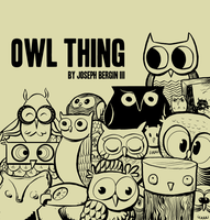 OWL THING COVER by sayunclecomics