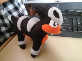 Houndour Plush by Vulpes-Canis