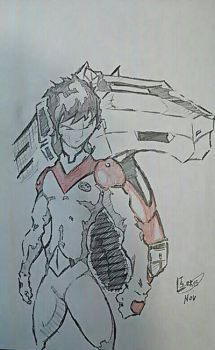 Keith of the Voltron force by Tazartist19