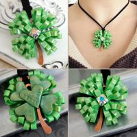 Lucky Clover Necklace by popnicute