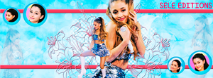 Portada Ariana Grande Sele Editions by Sele-Editions