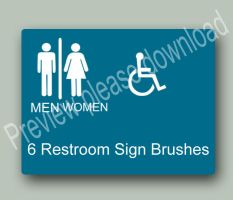 Restroom Brushes by the-PirateNinja