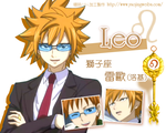 Leo , Loki , Fairy Tail by icecream80810